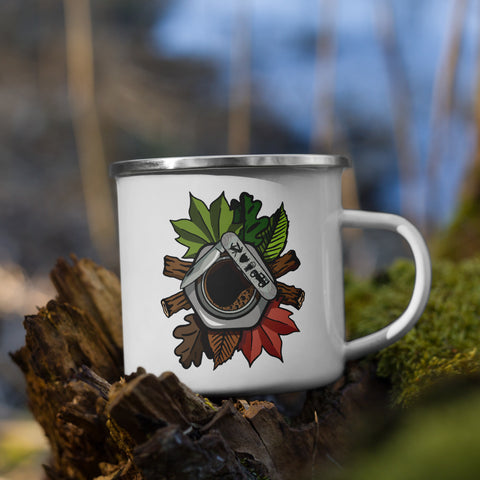 Coop Coffee Outdoors Enamel Mug