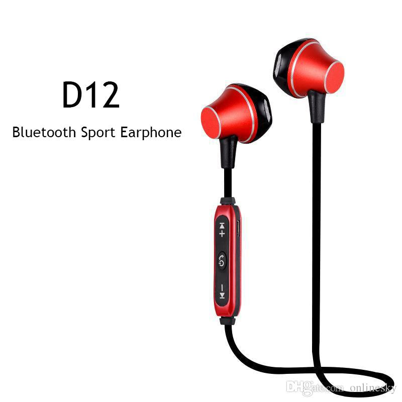 Audifonos Bluetooth Deportivos Magneticos BY-D12