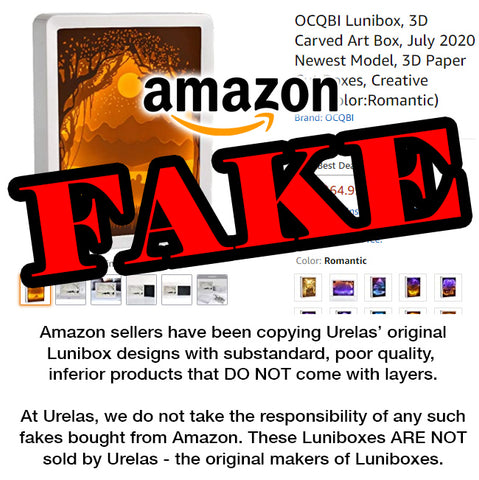 Amazon's QCBI Lunibox brand is fake and not run by Urelas. Avoid FAKE LUNIBOXES on Amazon.