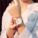 2018 Women's Watches Brand Luxury Fashion Ladies Dress Quartz Watch zegarek damski White Dial Wrist Watch for Women Bracelet New