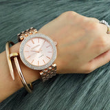 2019 Relogio Feminino Luxury Brand Contena Women Dress Watches Steel Quartz Watch Diamonds Gold Watches For Womans Wristwatches