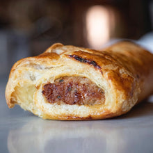 Load image into Gallery viewer, Garlic Pea-so Sausage Rolls - 2 Pack