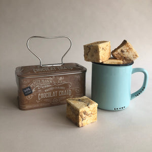 Jade Gift Set Trio: Salted Caramel Hot Chocolate, S'mores Marshmallow & Mint Enamel Mug