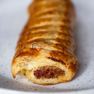 Garlic Pea-so Sausage Rolls - 2 Pack