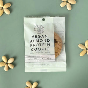 Vegan Almond Protein Cookies - Chocolate Maple Walnut 2-Pack