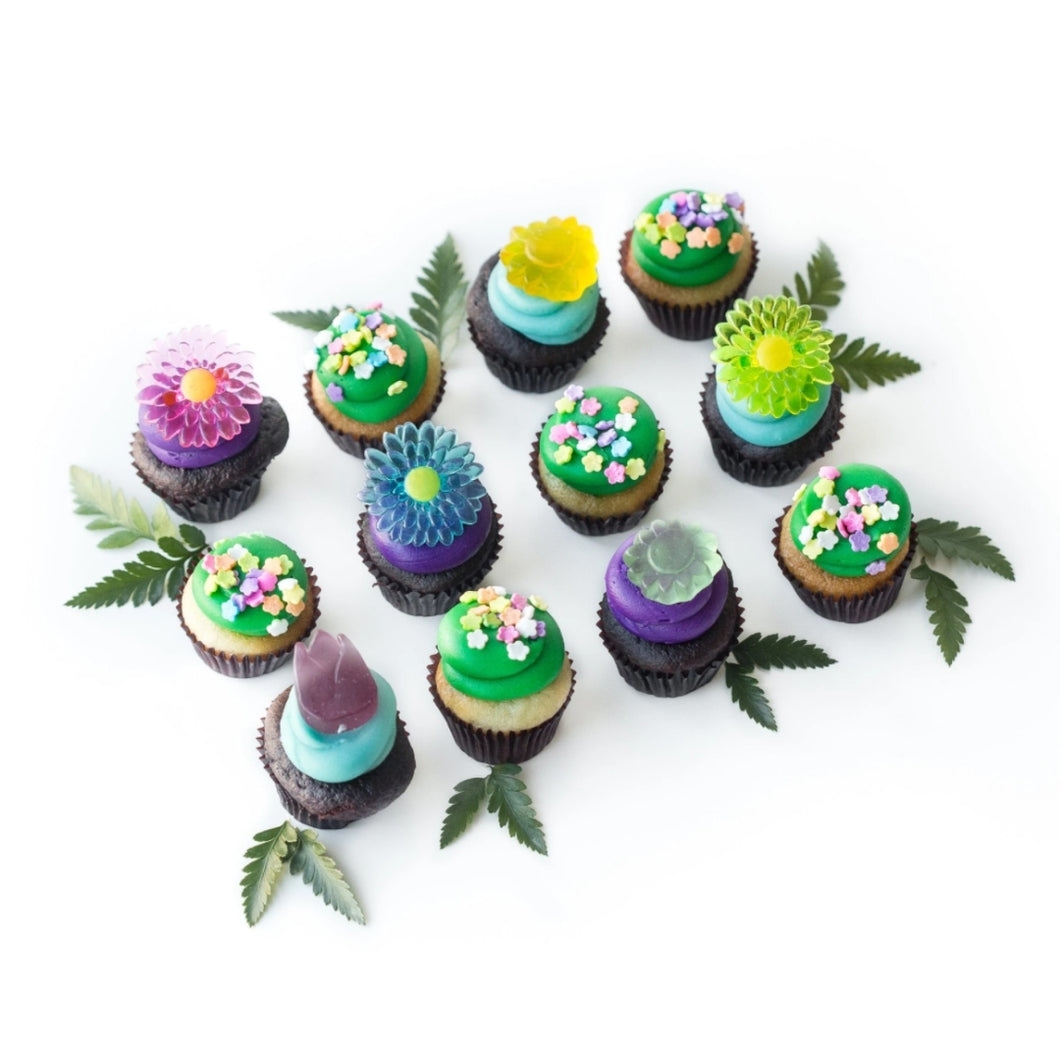 The Spring in Your Step Mini-Cupcakes - 1 Dozen