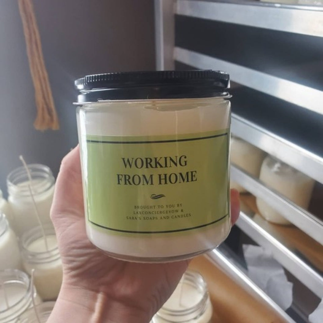 Work from Home Candle