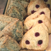 Load image into Gallery viewer, Lemon Raspberry & Blueberry Scone 4-Pack