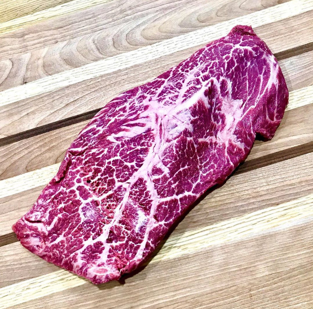 Sushi-Grade Flat Iron Steaks (2 pieces)