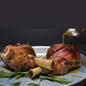 Slow Herb-Roasted Lamb Shanks (2 pieces)