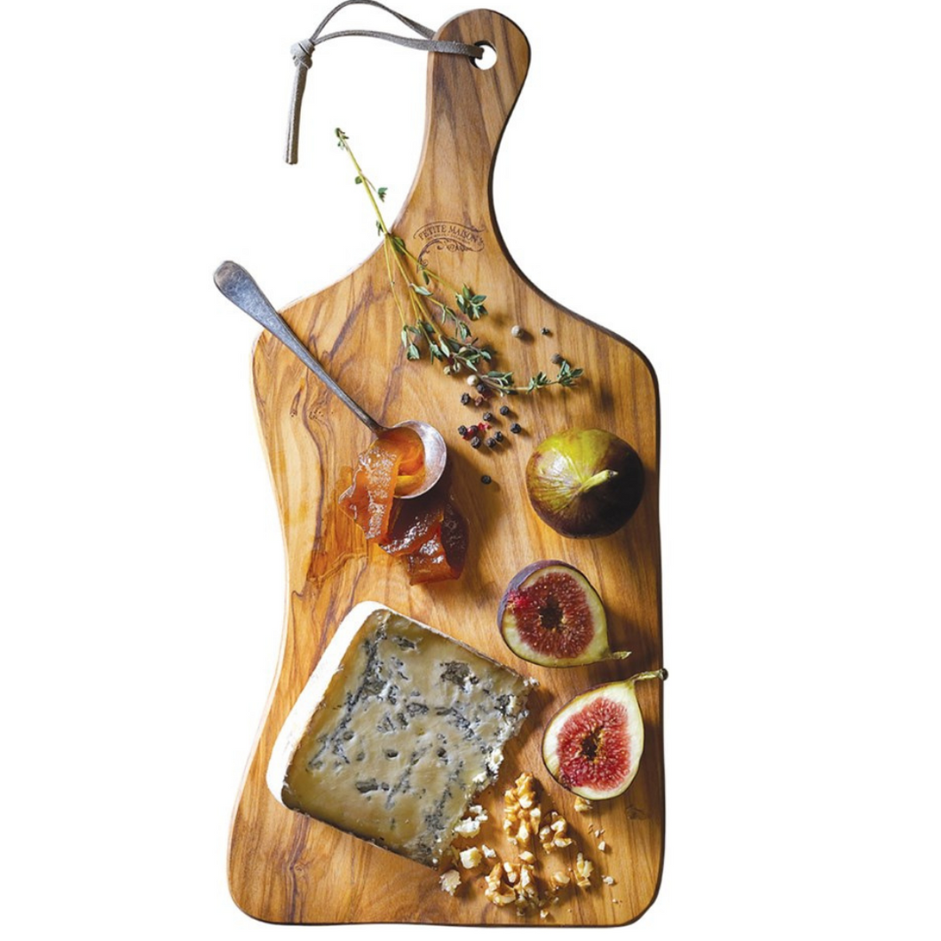 Square-Edge Olivewood Cheese Board