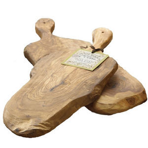 Natural Olivewood Cheese Board