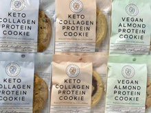 Load image into Gallery viewer, Keto Collagen & Vegan Almond Protein Cookie Sample Pack