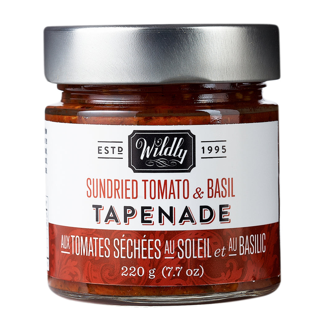 Sundried Tomato and Basil Tapenade