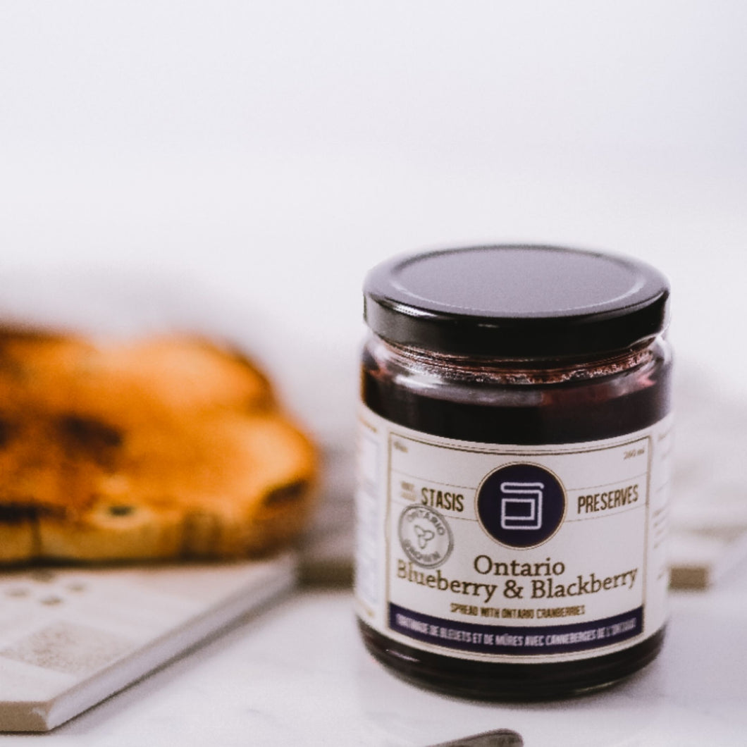 Ontario Blueberry & Blackberry Spread