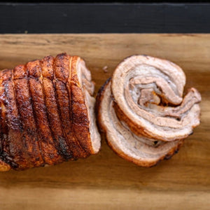 Rotisserie Pork Belly