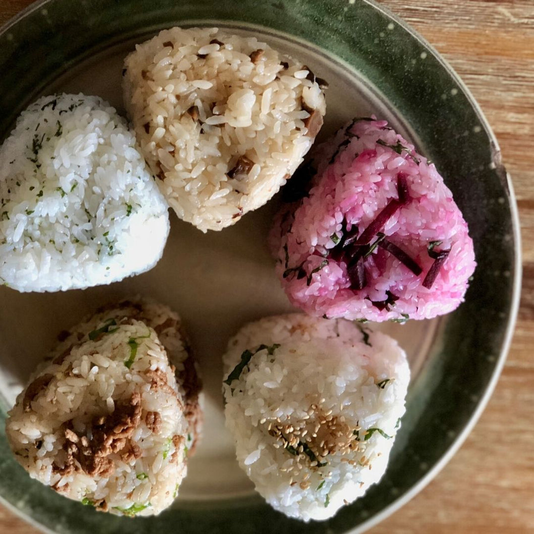 Vegan Assorted Rice Ball Set (5pcs)