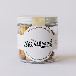 Mini Shortbread Cookies - Classic (Short Jar)