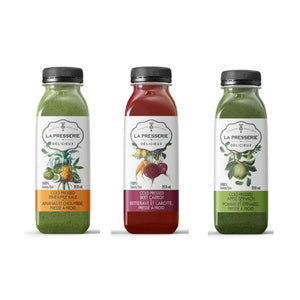 Cold Pressed Juice - Veggie Lovers Pack (6 Bottles)