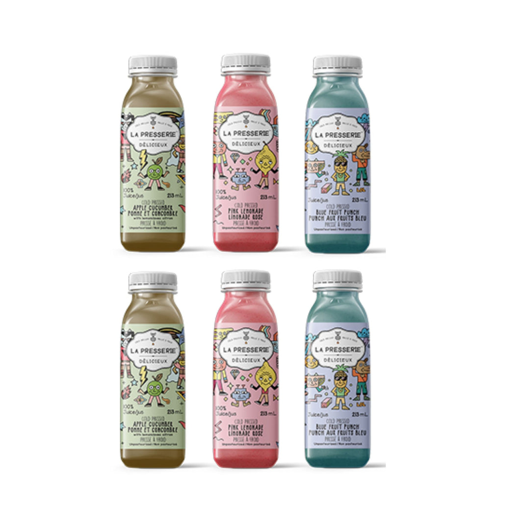 Cold Pressed Juice - Kids Pack (6 Bottles)