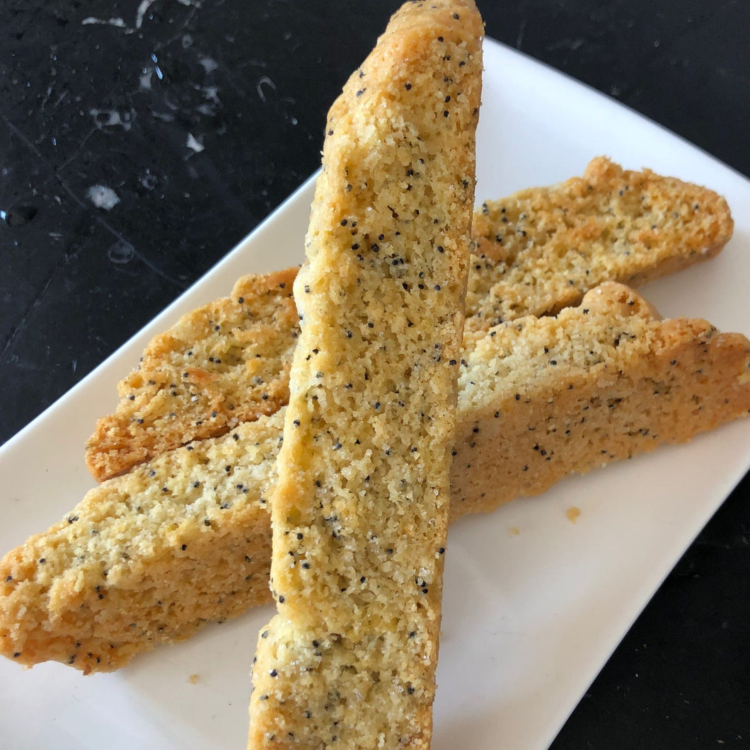 Biscotti 12-Pack - Lemon Poppyseed