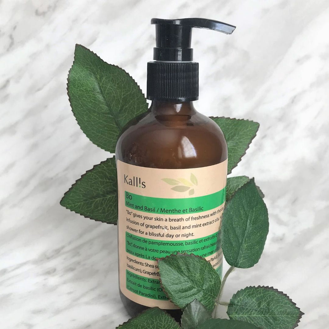 Mint + Basil Shea Body Oil