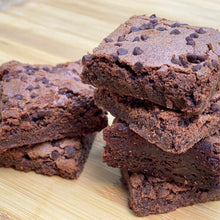 Load image into Gallery viewer, Brownie: Gluten-Free Classic Deep Fudge Brownie 4-Pack