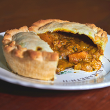 "Load image into Gallery viewer, Vegan Butternut Squash & Coconut Curry Pie (5"")"
