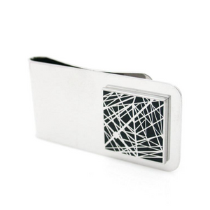 Grid Money Clip