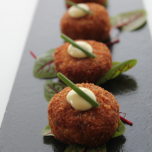 Load image into Gallery viewer, TOBEN's Famous Wild Mushroom Risotto Cakes