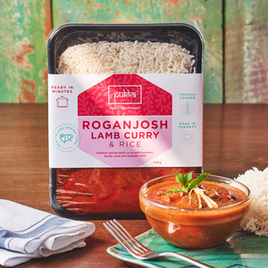 Pukka's Rogan Josh Lamb Curry & Rice