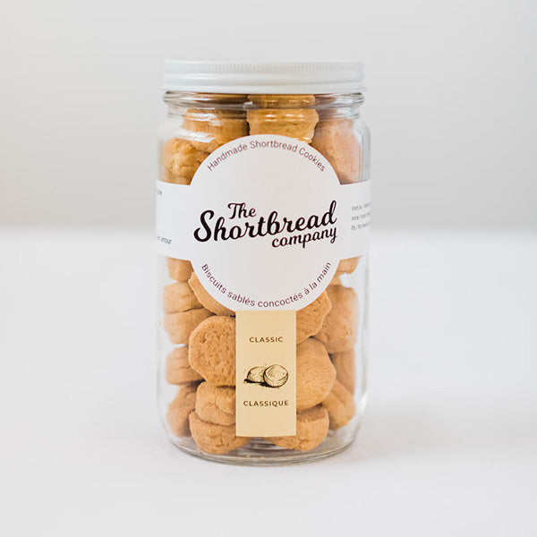 Mini Shortbread Cookies - Classic (Tall Jar)