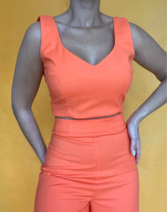 CROP TOP JUICY Tangerine