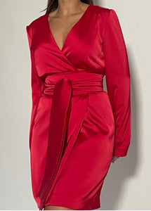 "Robe ""LA ROSE ROUGE"""
