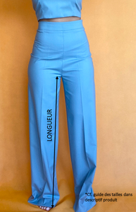 PANTALON JUICY Blueberry - TALL