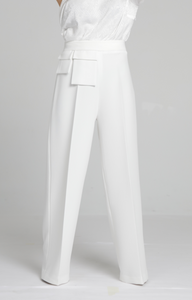 "Pantalon ""HOPE"" - blanc TALL"