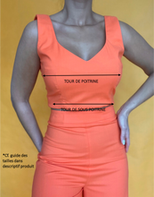 Charger l'image dans la galerie, CROP TOP JUICY Tangerine