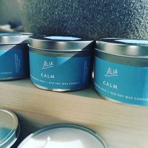 Alia luxurious Eco soy wax Candles - Ecoanniepooh