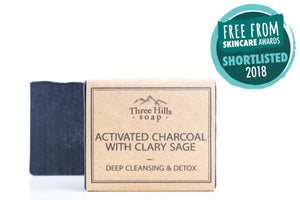 Activated Charcoal Detox Soap.