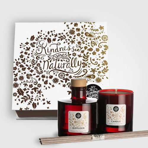 Christmas Candle & Reed Diffuser Gift Set
