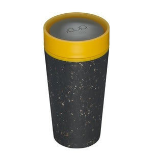 rCUP black and mustard 12oz - Ecoanniepooh