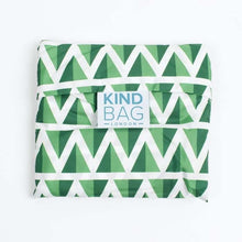 Load image into Gallery viewer, The Kind Bag Reusable shopping bag made from recycled plastic bottles (various patterns available) - Ecoanniepooh