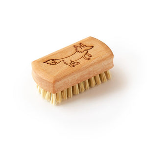 Kids Vegan Wooden nail brush - Ecoanniepooh