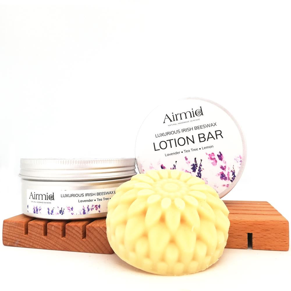 Lavender, Tea Tree & Lemon Luxury Lotion Bar - Ecoanniepooh