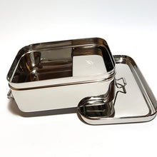 Load image into Gallery viewer, Giant Stainless Steel Lunch Box & mini container - Ecoanniepooh