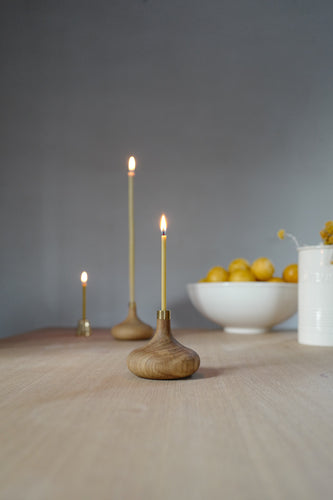 Oak Candle Holder OVO things