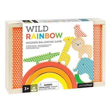 Load image into Gallery viewer, Wild Rainbow Wooden Balancing Game