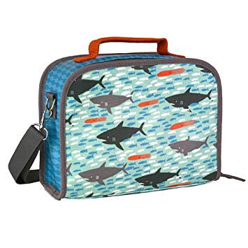 Sharks Eco friendly insulated Lunch bag - Ecoanniepooh