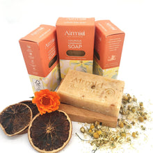 Load image into Gallery viewer, Airmid Irish Handmade Ylang Ylang & Orange Soap - Ecoanniepooh