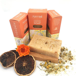Airmid Irish Handmade Ylang Ylang & Orange Soap - Ecoanniepooh